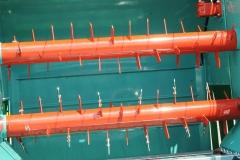 DE SERIE 2 hérissons démêleurs entraînement hydraulique