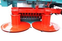 DE SERIE système coupe 2 tambours 2.10 m
