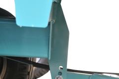DE SERIE Réglage en hauteur de la coupe rotative par un vérin hydraulique 3