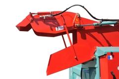 COMPLEMENTAIRE Vérin hydraulique sur casquette de goulotte