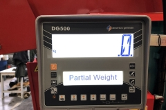 DE SERIE Boîtier de pesage DG 500