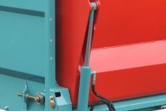 Porte AR hydraulique avec 2 vérins en poussée